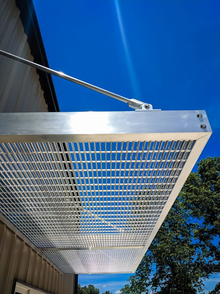 Custom Aluminum Awning by Ascend Fab